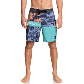Quiksilver Highline Rave Wave 18 Boardshorts Men majolica blue